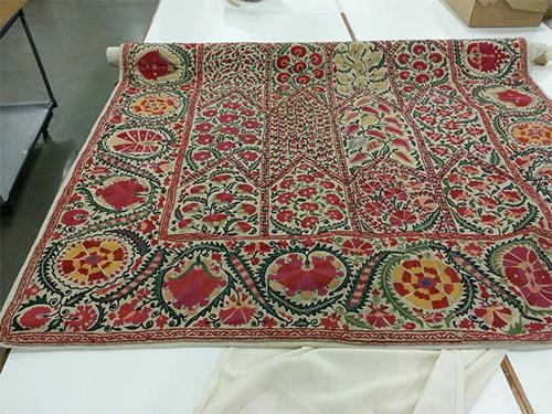 Vintage Suzani via The Little Silk Road Suzani Shop