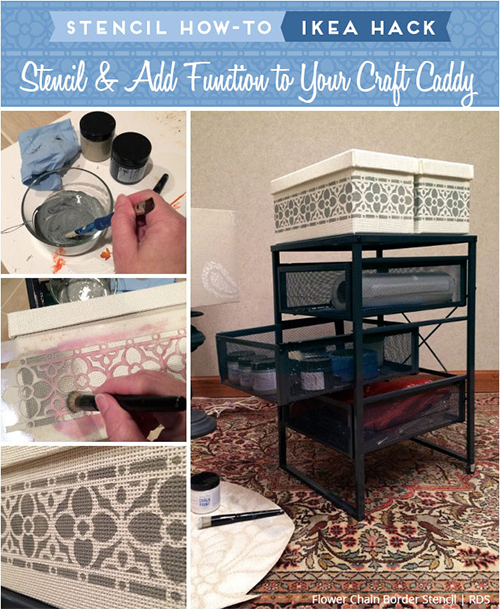 DIY Craft Caddy