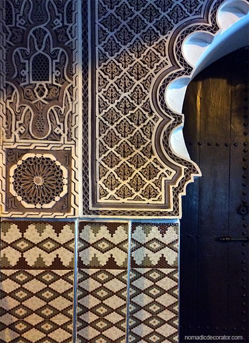 Marrakech Door in Souks