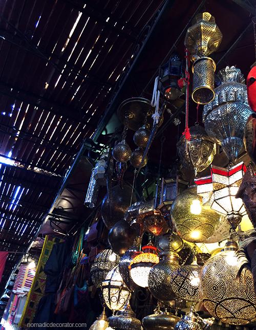 Marrakech Souk Lanterns