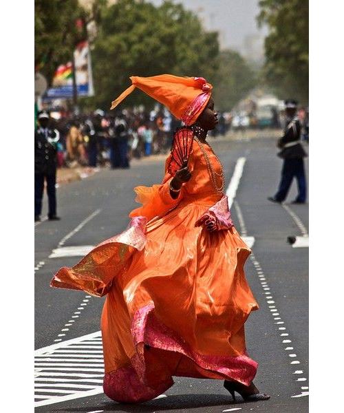Woman in Senegal by FireflyUSC on Flickr