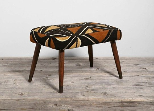 HYM-Salvage-and-Urban-Outfitters-Mud-Cloth-and-Mid-Century-Modern-Ottoman