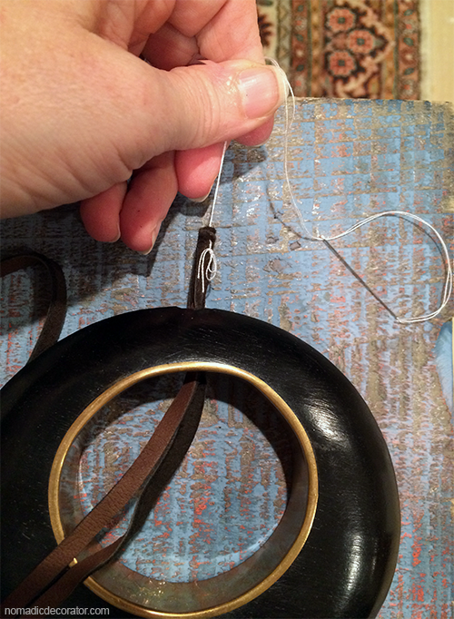 Leather Cord Threading Tip