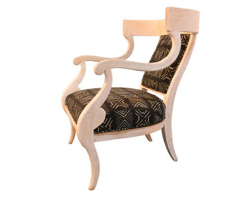 Mud Cloth Chair Sold at 1stDibs