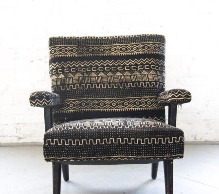 Mud Cloth Chair via Rent Patina