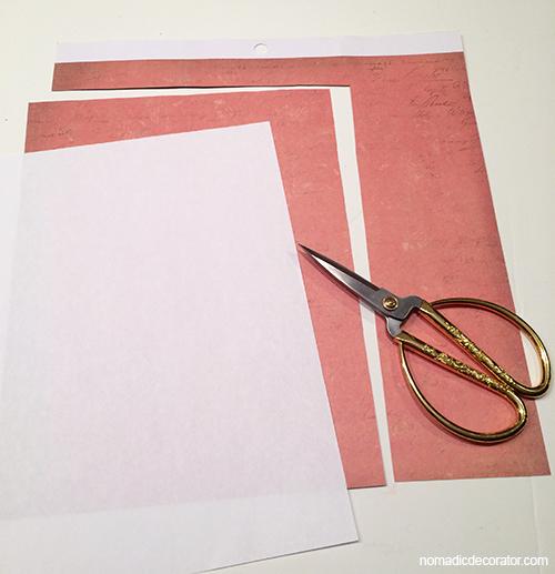 Scrapbook Paper Cut for Printer