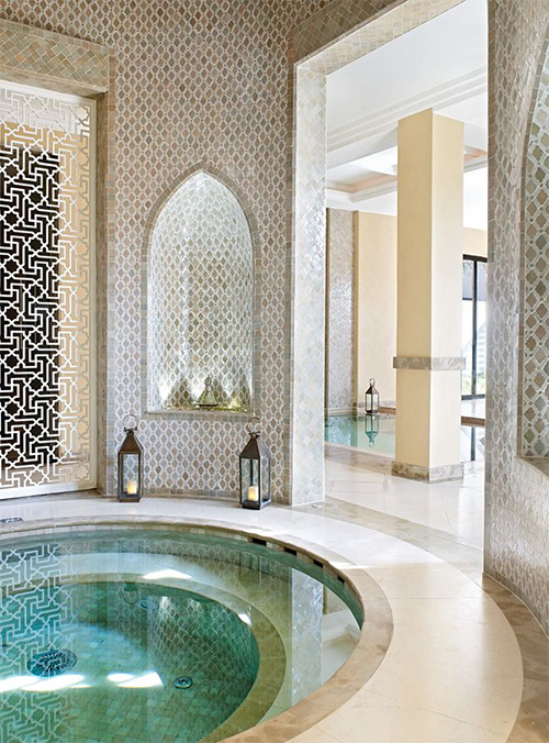 Moroccan Spa-Like Space