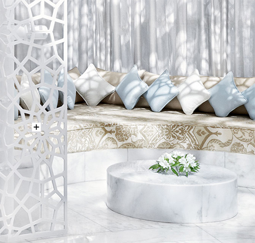 Nook in Royal Mansour Spa