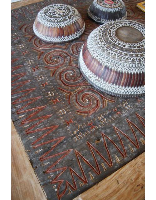 Toraja Panel as a Table