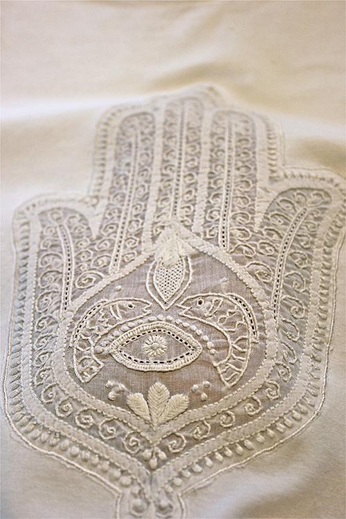Embroidered Hamsa