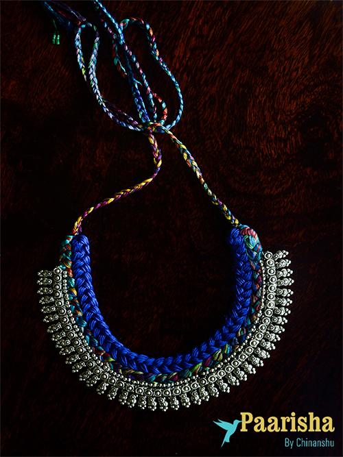 Mumbai Woven Necklace by Paarisha