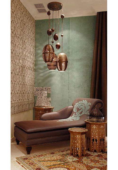 Moroccan Inlaid Side Tables