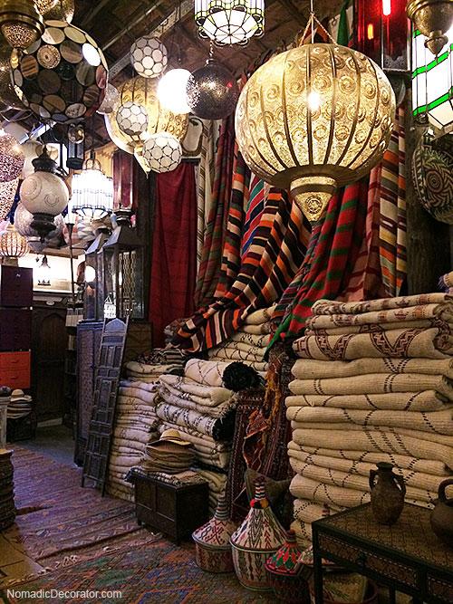 Mustapha Blaoui Shop in Marrakech