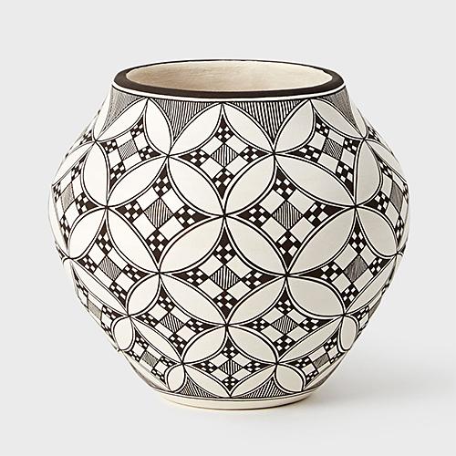 A Lucario Acoma Pot at DARA Artisans