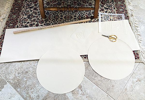 DIY Pouf Pieces
