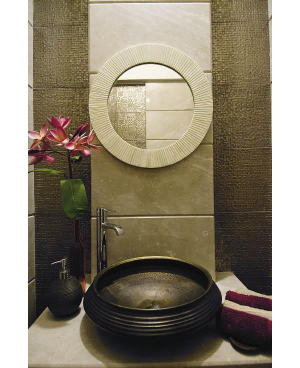 Modern Urli Wash Basin via Inside Outside