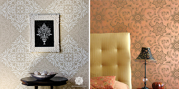 Royal Design Studio Stencils for DIY Poufs