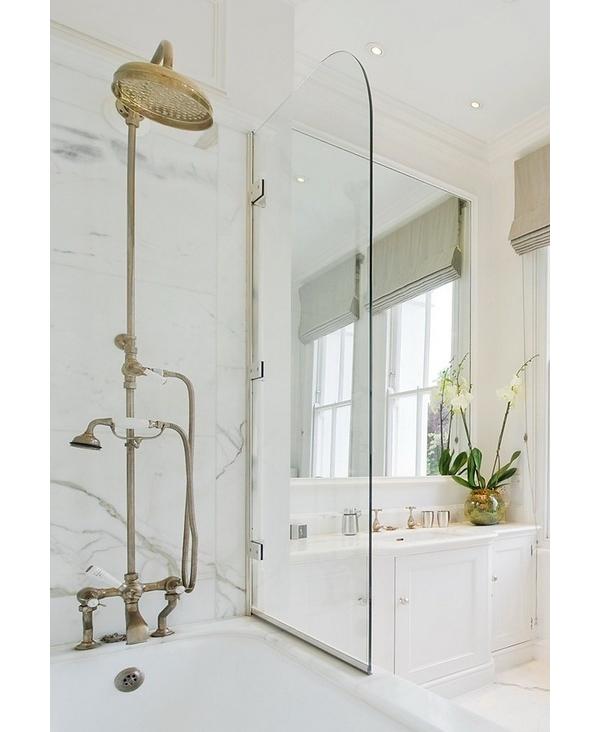 Shower Plumbing Exposed