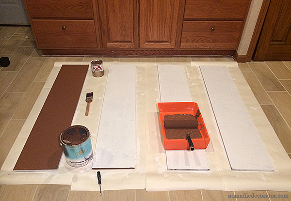 Primed and Painted Boards
