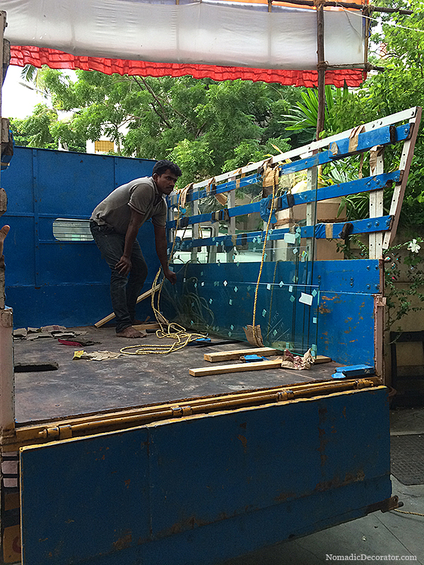 Shower Door Glass Delivery in Chennai India