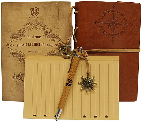 Classic Leather Travel Journal