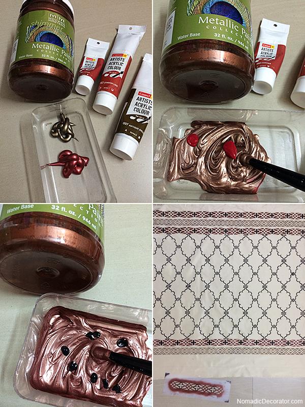 Metallic Copper Mix