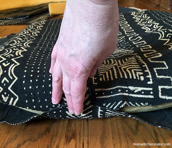 Mud Cloth Seat Cushion