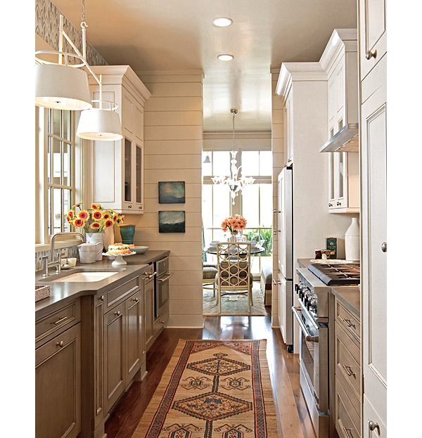 Traditional Home Runner in Kitchen