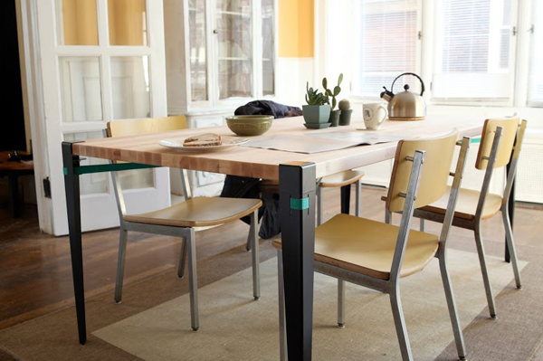 Floyd Vice Grip Leg Dining Table