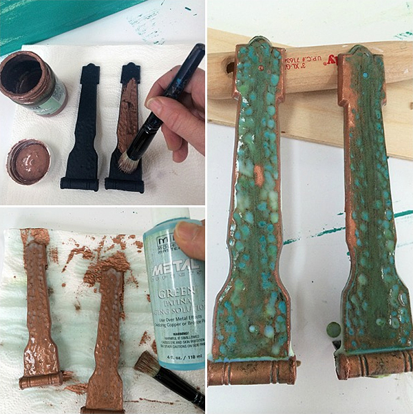 Modern Masters Copper Patina Solution