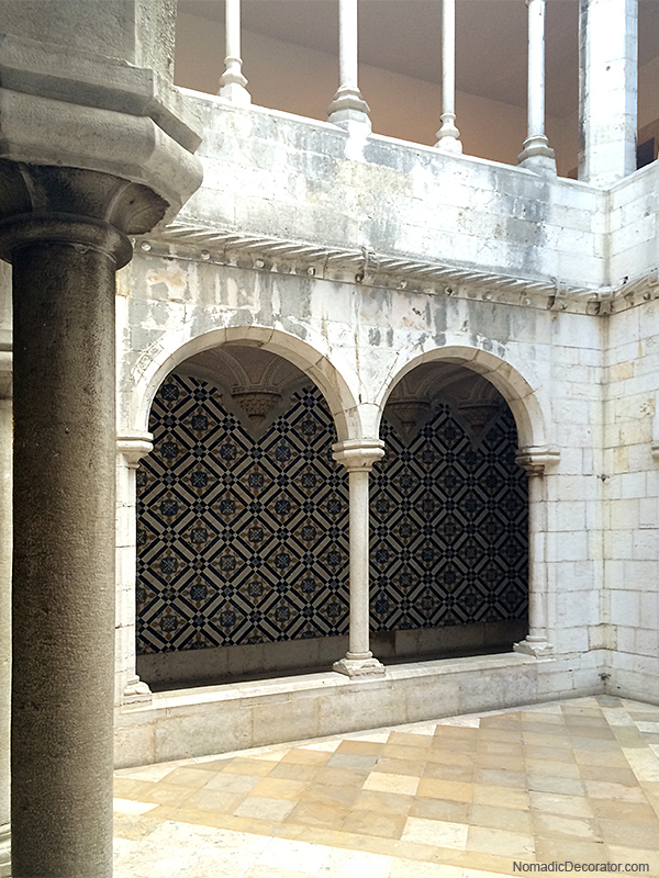 The National Tile Museum in Lisbon Portugal