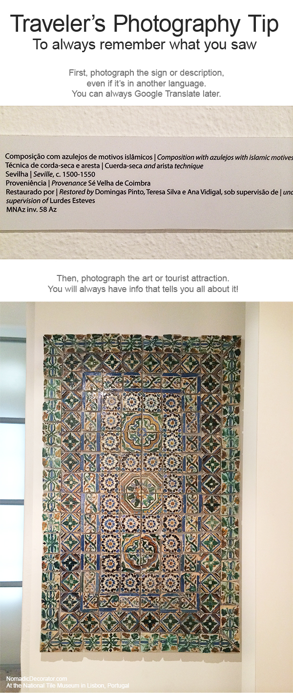 Photography Tip for Travelers