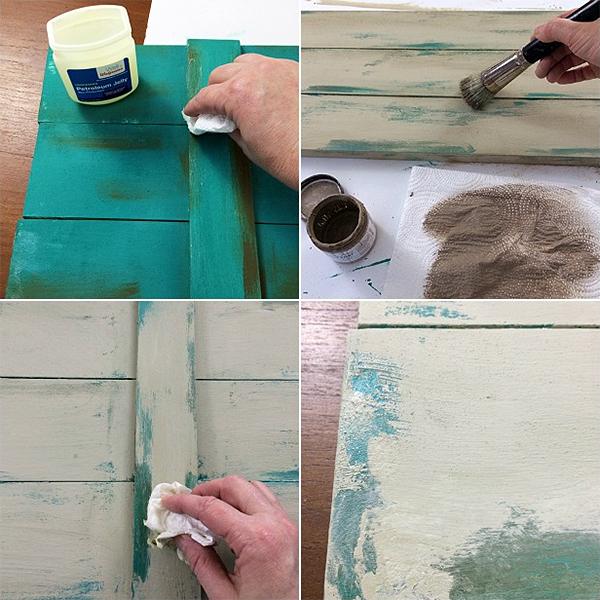 Vaseline Chippy Paint