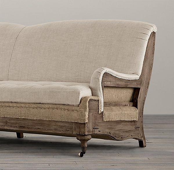 Restoration Hardware Deconstructed Sofa