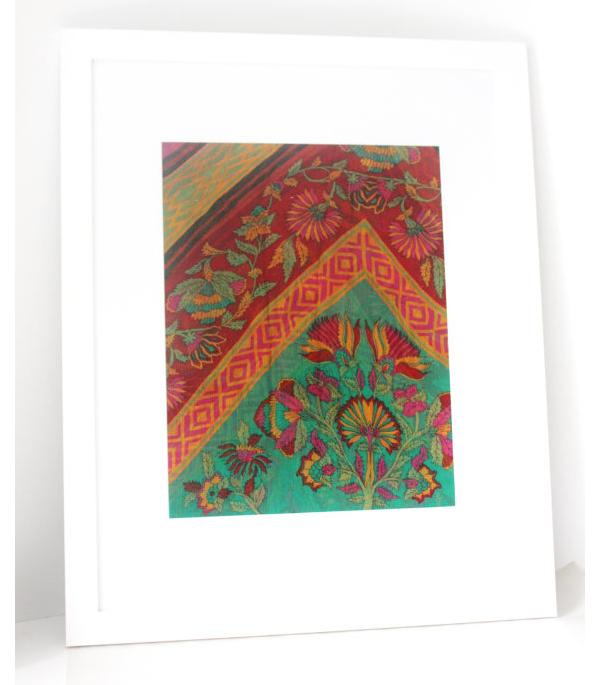 Framed Saree Fabric from Firozi