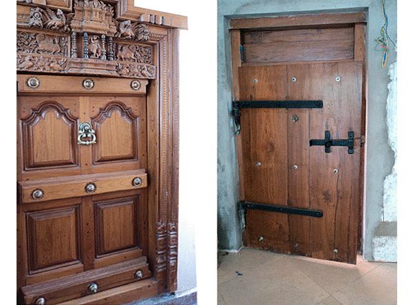 India Apartment Main Door