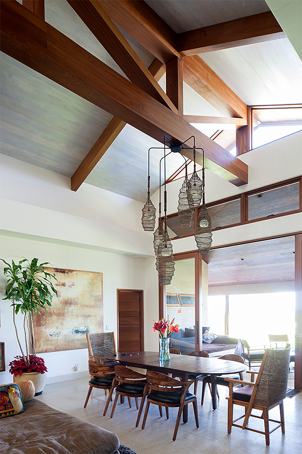 Kauai Architects FishTrap Chandelier