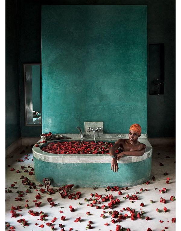 Lupita at El Fenn via Vogue
