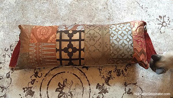 Patchwork Bolster Pillow