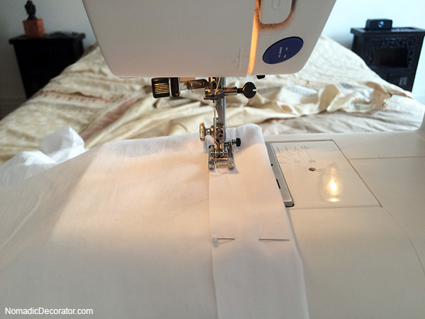 Pinning and Sewing