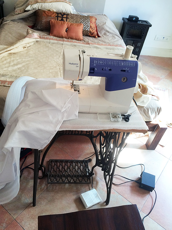 Sewing in India