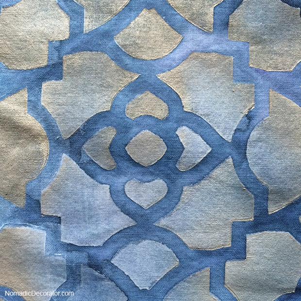 Indigo Dye and Fabric Paints
