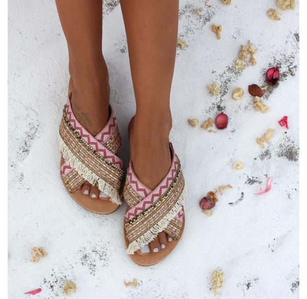Dimitras Workshop Etsy Shop Bohemian Style Sandals
