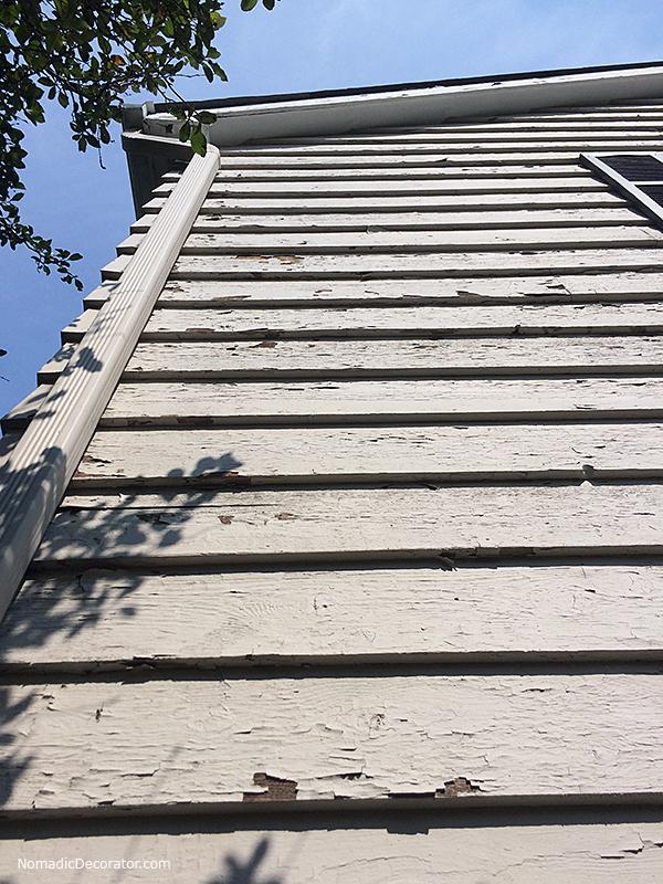 Peeling Paint on Cedar Siding