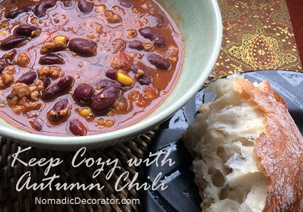 Autumn Chili Recipe