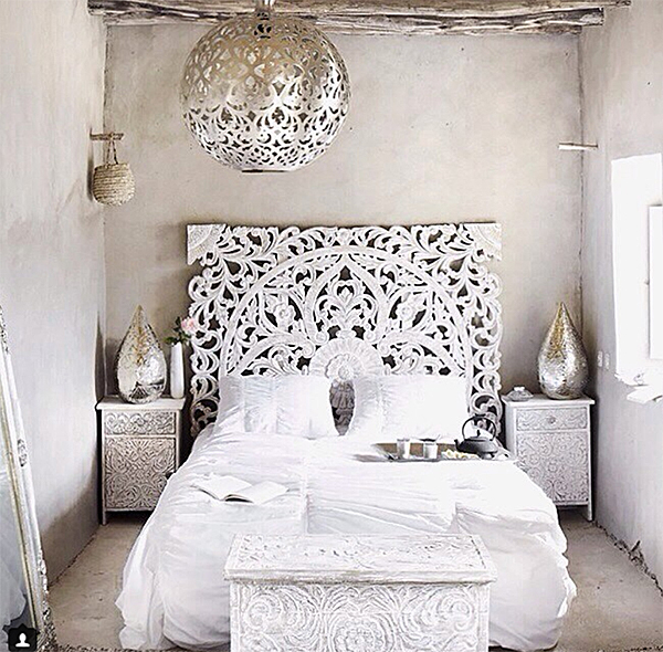 Layers of White Patterns