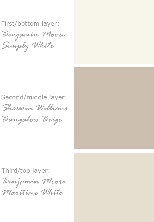 Paint Colors for Natural Old Wall Look