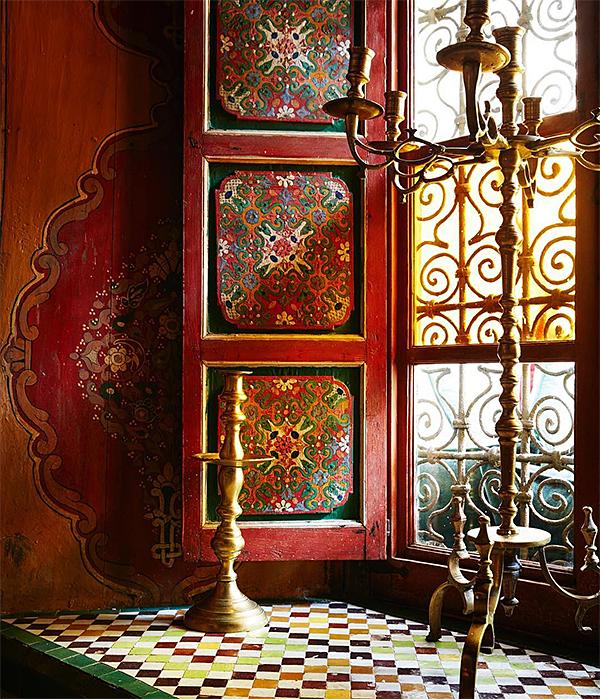 Palais de la Zahia Window
