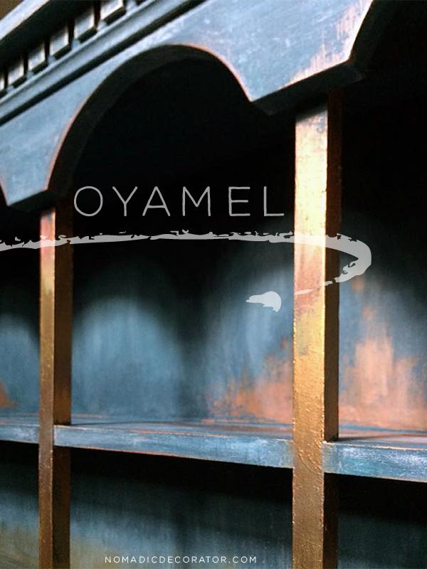 Oyamel Paint Finish