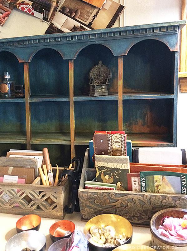 Shelf in My Studio